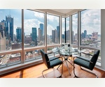 NO FEE! Luxury living on Manhattan's West Side Area! 2 bedroom / 2 bath apartment with private glass terraces!