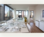 Elegantly designed with floor-to-ceiling windows 2 bedroom rental! In a prime Chelsea New York location!
