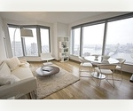 Three Bedroom for Rent Downtown Manhattan- Luxury, Views, Full Service, and LIGHT! Under $10k - NO FEE!