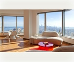 /BREATH TAKING VIEW FROM THE 50..S' FLOOR**2BR,2BATH/1100 SF/LUXURY BLDG/F/CITY HALL/MANHATTAN BRIDGE /FRANK GEHRY DESIGN