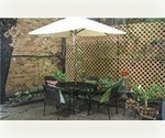 PRIVATE OUTDOOR SPACE IN A CHARMING 1 BEDROOM APARTMENT IN THE HEART OF CHELSEA.