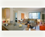 Two bedroom Two bathroom in Prime Midtown West Luxury Building! High floor, gym, valet, concierge $4,999